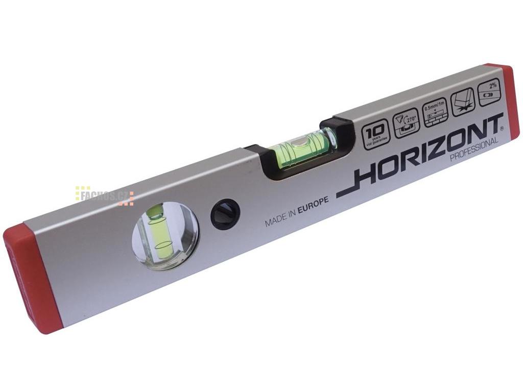 Horizont vodováha 30cm, dvě libely (fachos.cz)