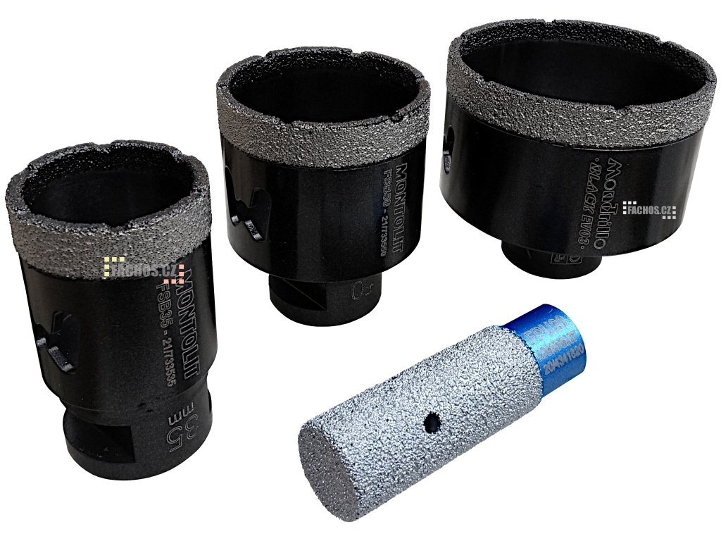 Montolit FSBKit sada korunek na vykružování otvorů do dlažby, 35mm, 50mm, 70mm fachos.cz