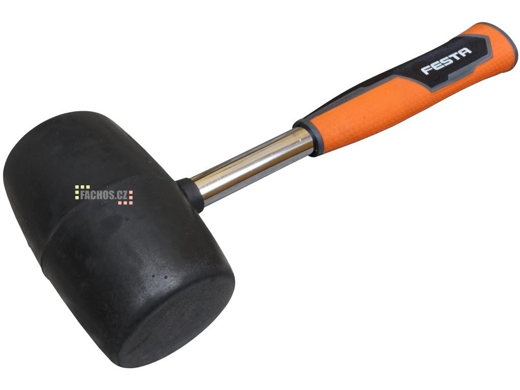 Černá gumová palička na obklady a dlažbu, 680g (fachos.cz)