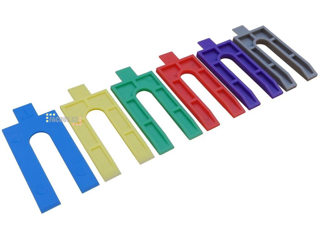 Plastové podložky 1, 2, 3, 4, 5, 6mm fachos.cz