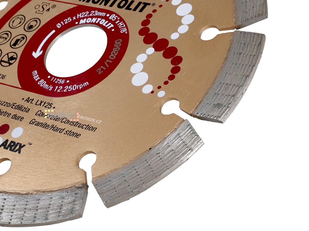 DNA diamantový kotouč 115mm na stavební materiály a přírodní kámen