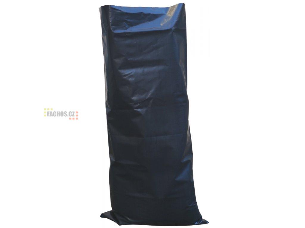 Černý polyetylénový pytel na stavební odpad, 200my, 60x120cm