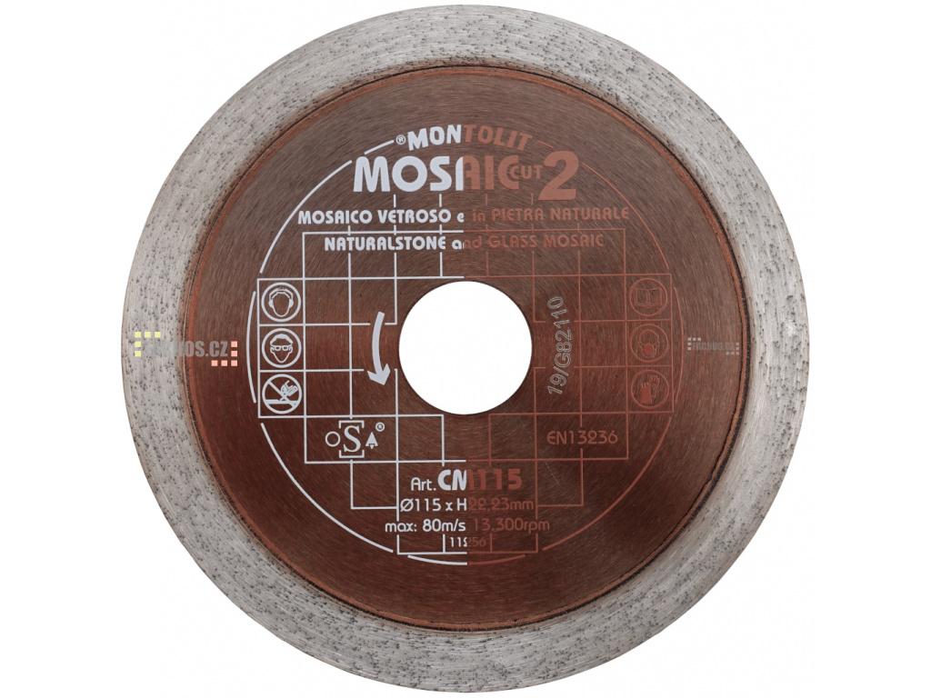 CM125 řezný kotouč na skleněnou mozaiku, 125mm fachos.cz