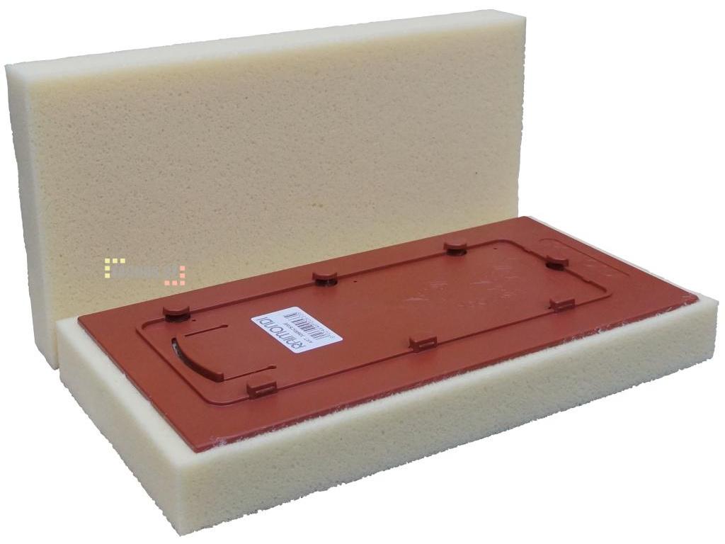Rychloupínací molitanová houba, 340x170x40mm