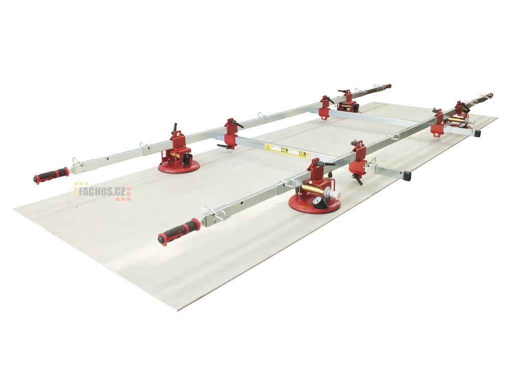 Montolit Superlift - rám na manipulaci s velkoformátovou dlažbou