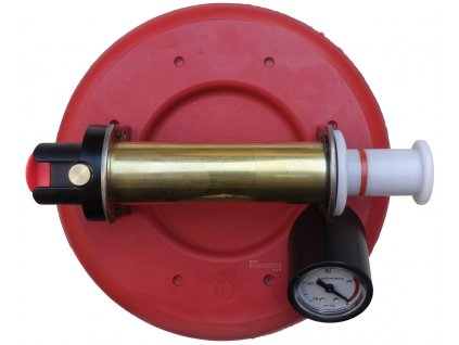 Vakuová přísavka s indikátorem podtlaku na sklo a dlažbu, průměr 200mm