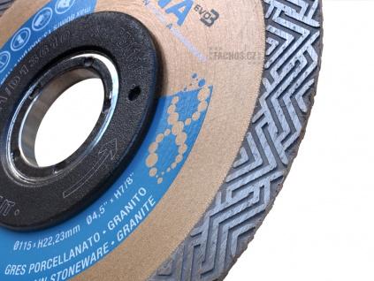 Řezný kotouč CBX na obklady, dlažbu a kámen