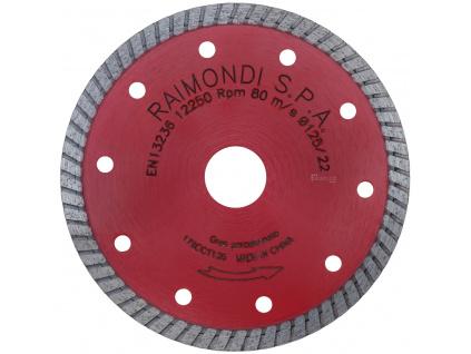 Turbo kotouč CCT125 na tvrdé dlažby, kámen a obklad (web)