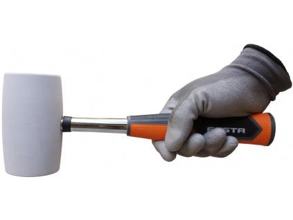 Gumová palička s bílou gumou, průměr 65mm (web)