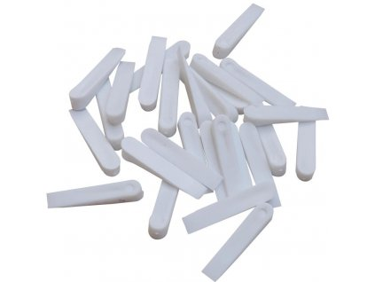 Plastové klínky bílé 0 4mm (web)
