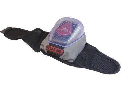 Gelové nákoleníky s extra plastovou ochranou, suchý zip