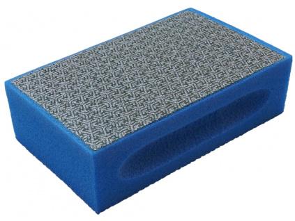 Modrá dia houba na broušení dlažby, zrnitost 60 (web)