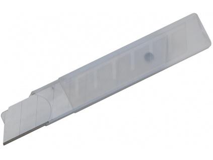 Náhradní čepele pro nože 18mm, baleno po 10 kusech