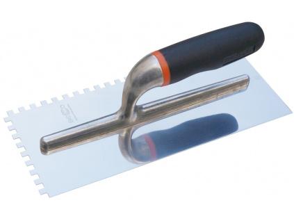 Profesionální hřeben pro obkladače, hranatý zub 6mm, rozměr 280x120mm