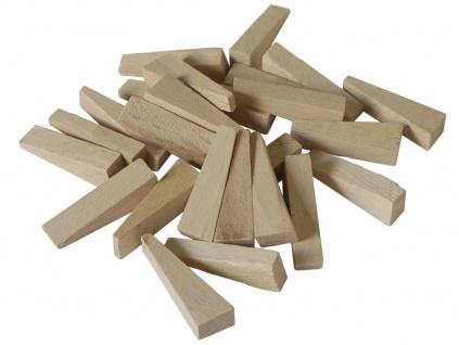 Tupé klínky z tvrdého dřeva pro montéry a podlaháře