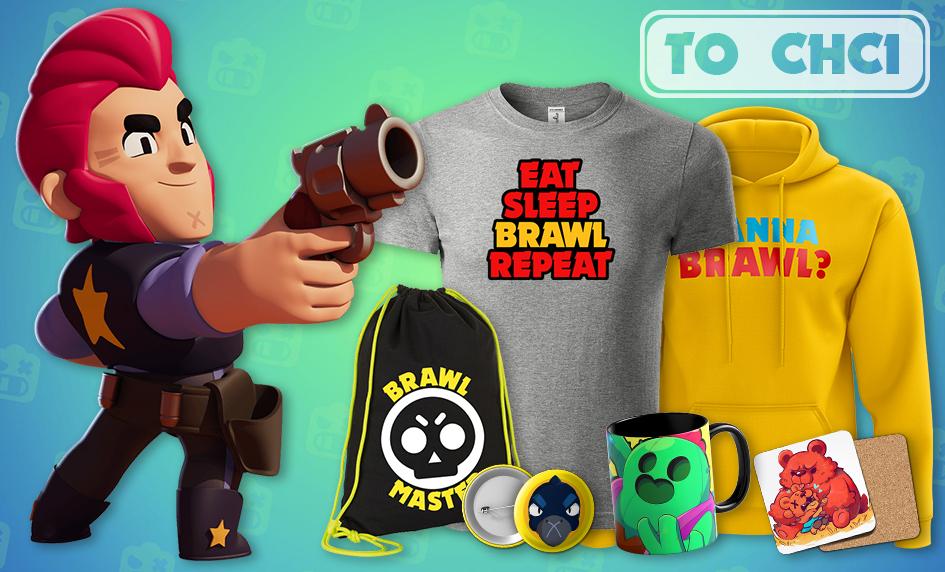 Stylové předměty z populární mobilní hry Brawl Stars
