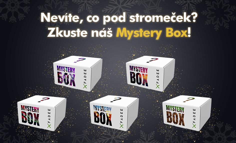 Hledáte skvělý tip na Vánoce? Zkuste MYSTERY BOX!