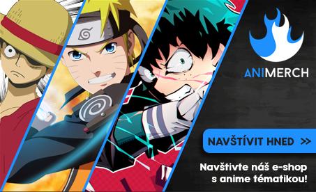 Máš rád Anime a patříš mezi pravé Otaku? Mrkni se na e-shop Animerch.cz