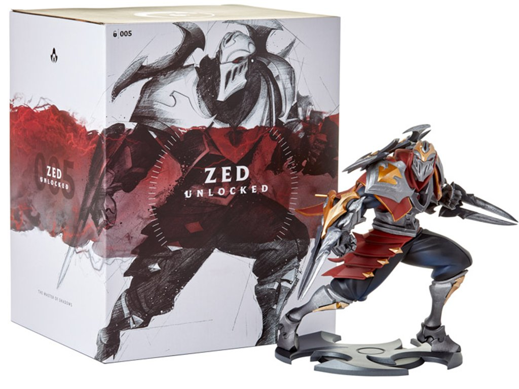 Sběratelská figurka Zed UNLOCKED 3