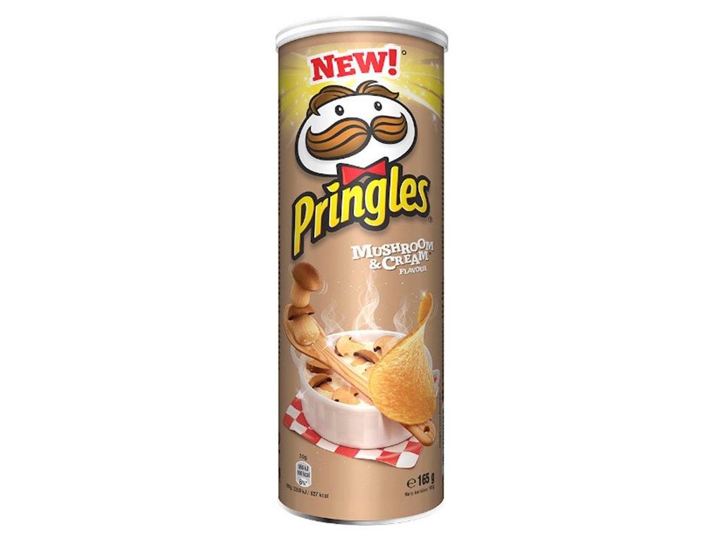 Pringles Mushroom & Cream