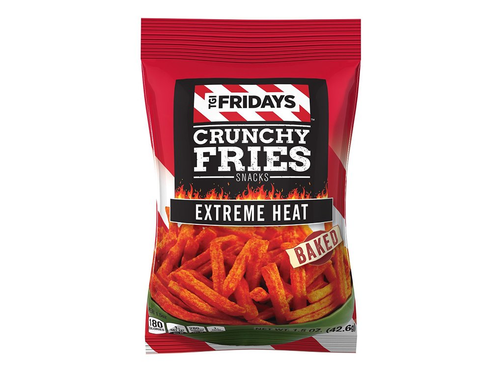 Crunchy fries snack Extreme heat