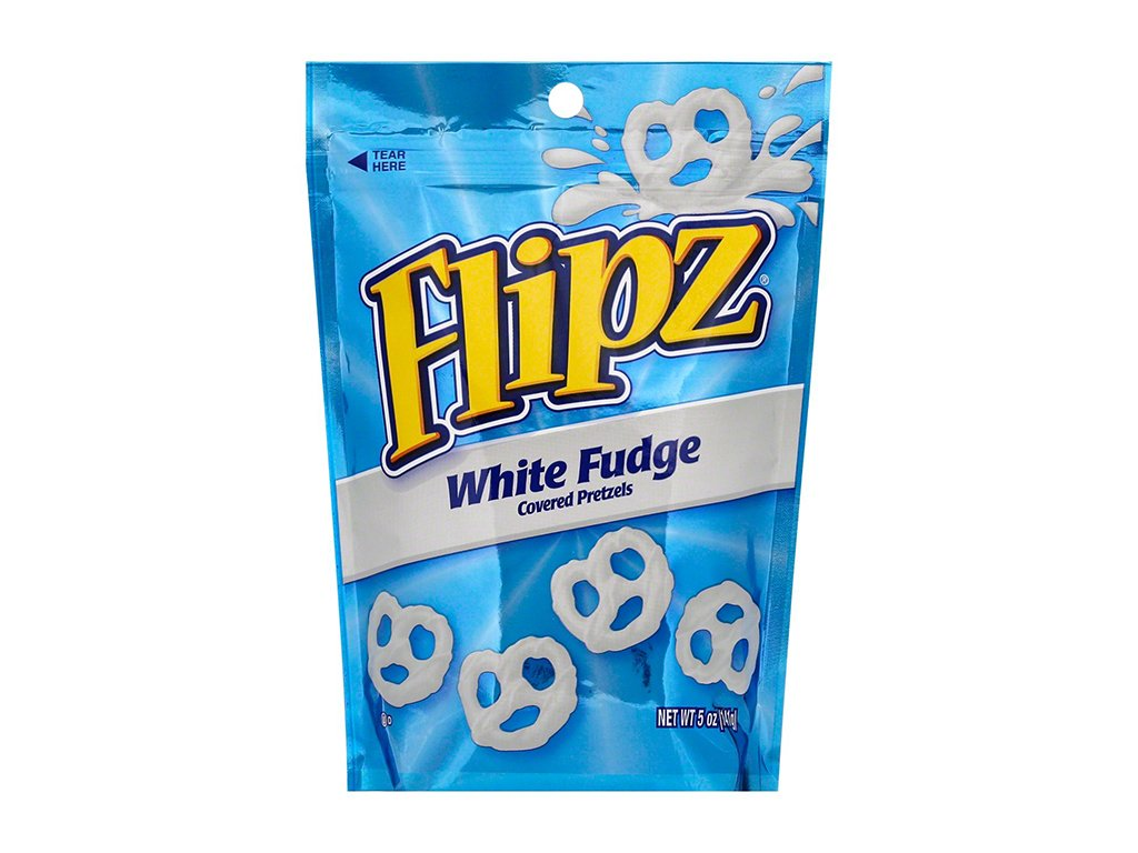 flipz white fudge