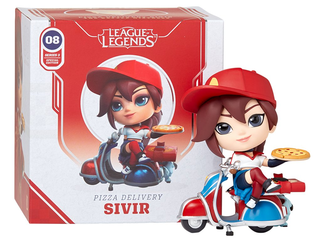 League of Legends Figurka Pizza Delivery Sivir 3