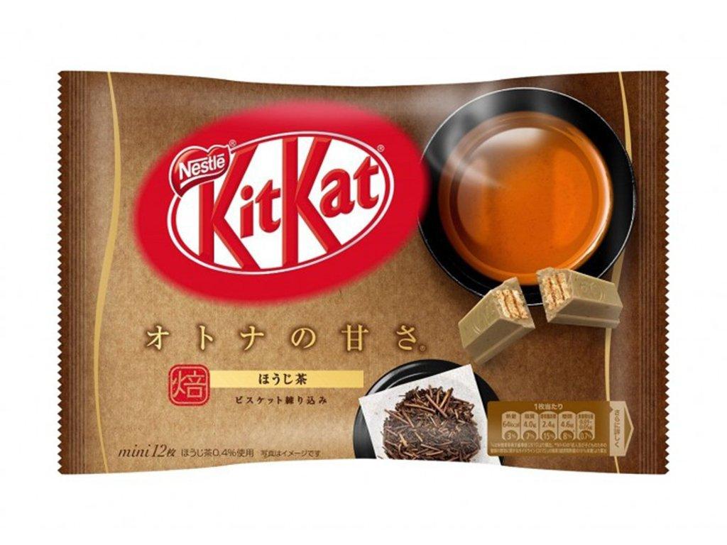 Kitkat s příchutí Hoji Tea - 139,2 g