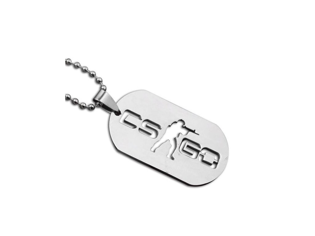 CS GO Gun AK47 AMW MA4 Leather Necklace For Men CSGO Anime Weapon Neckless Male Collier Homme Best Friends02