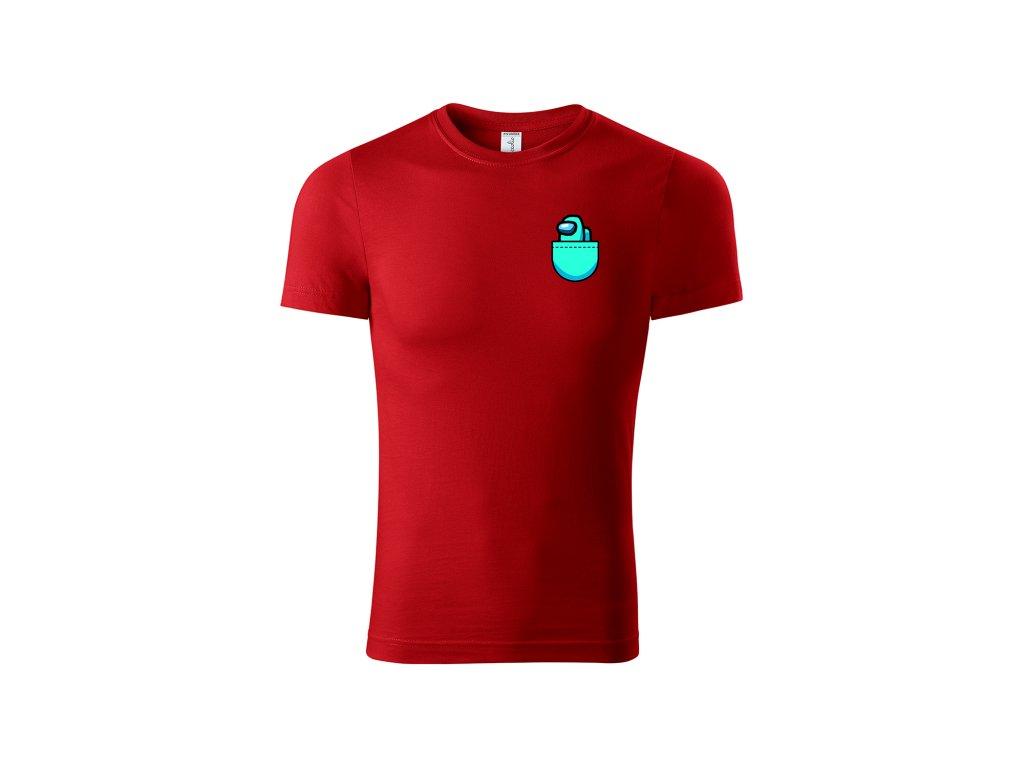 Pocket player červené