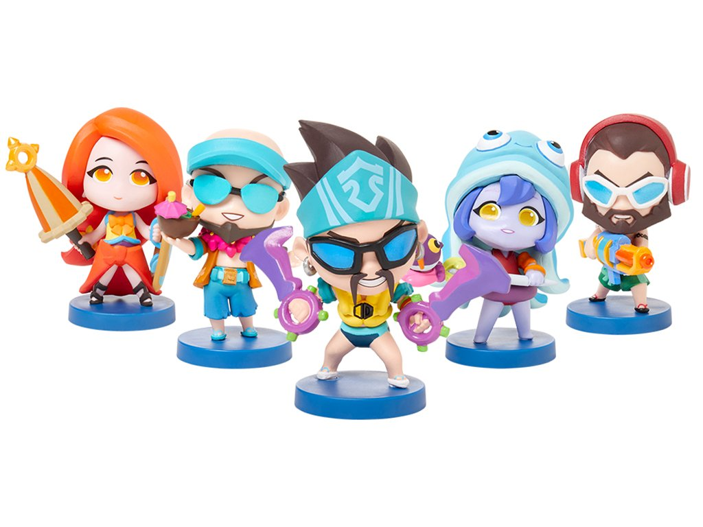 Team Minis Pool party figurky 7