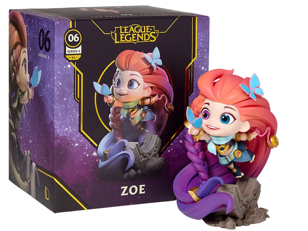 League of Legends XL Figurka Zoe 3