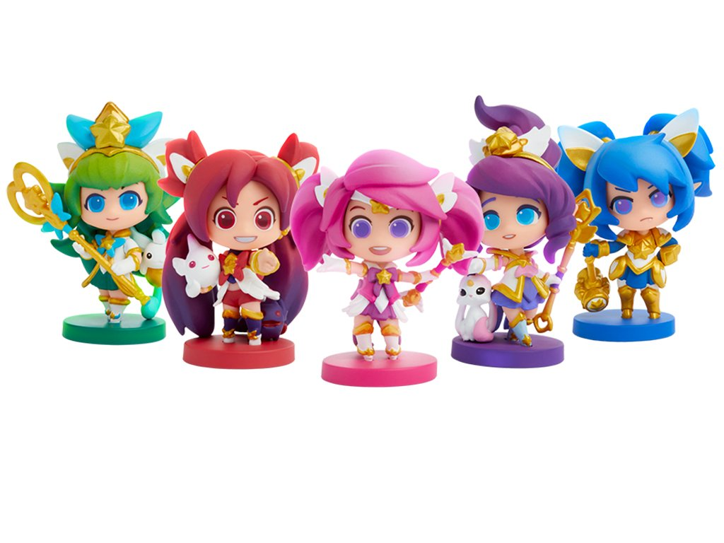 League of Legends Team Minis figurky Star Guardian