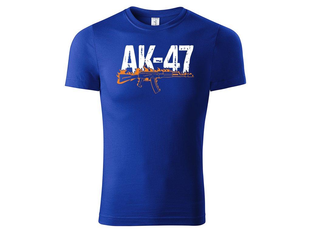 AK 47 blue