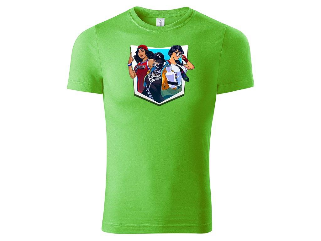 Fortnite Girls green