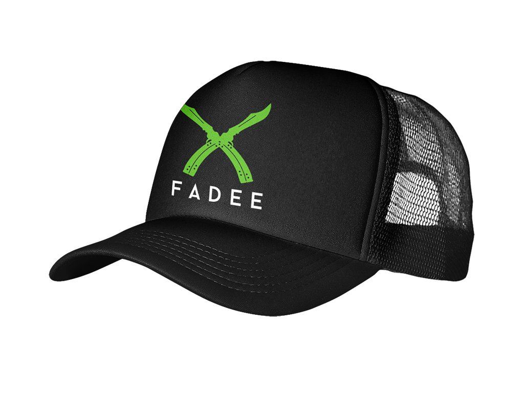 Trucker Black Fadee logo