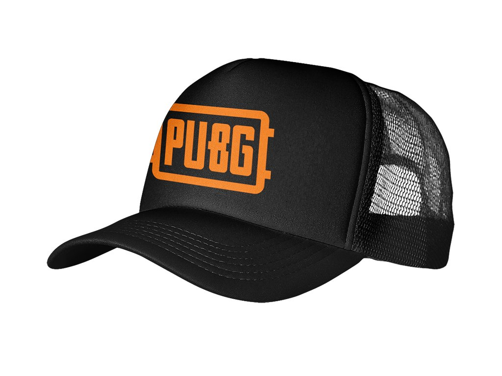 Trucker Black Pubg logo
