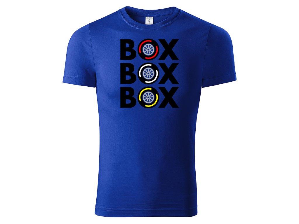 Box Box Box Gumy Královská Modrá