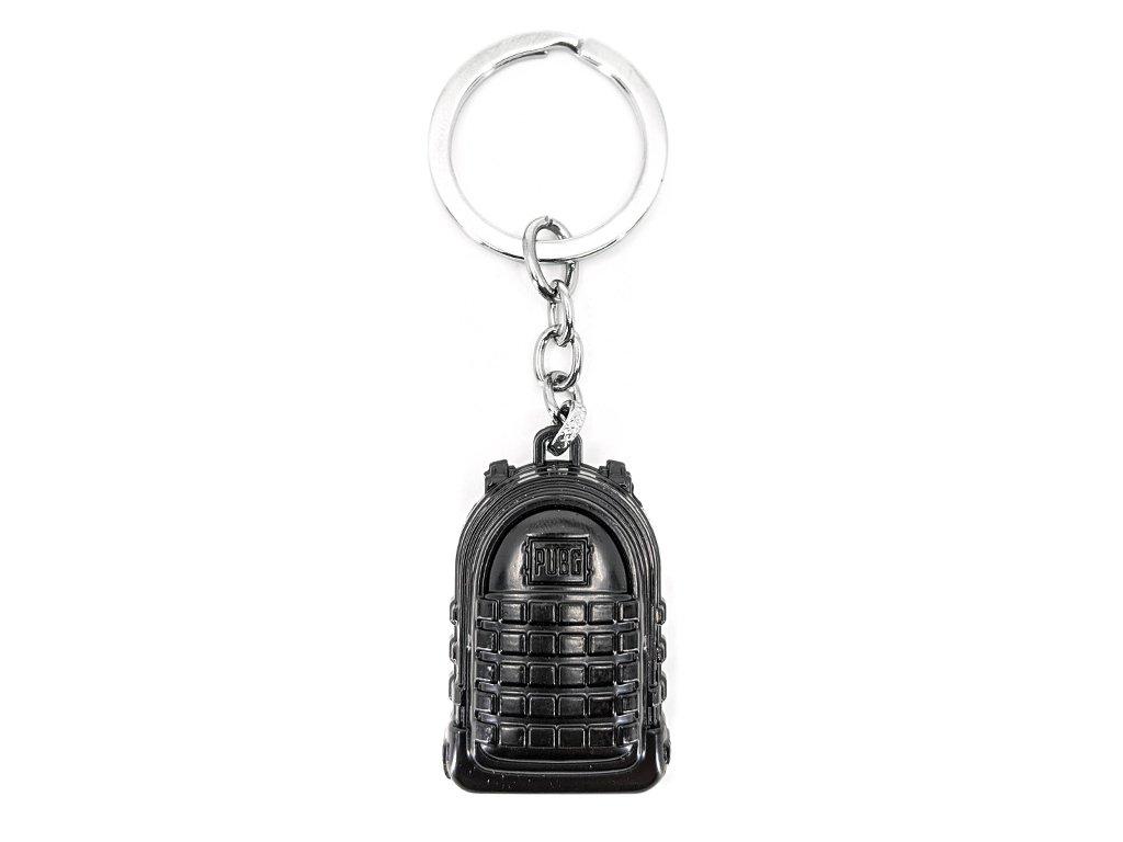 Přívěsek na klíče PUBG Batoh černý