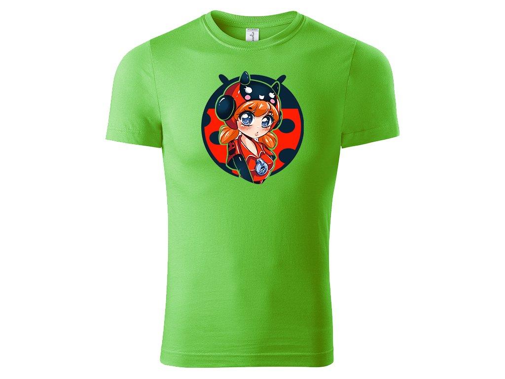 Ladybug bea green