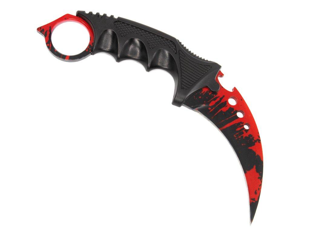 Karambit reaper - Blood CS:GO nože