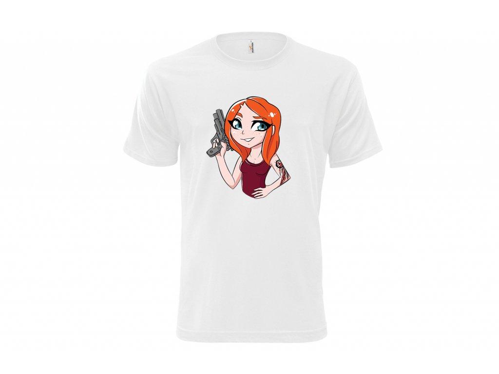 tričko bile 1