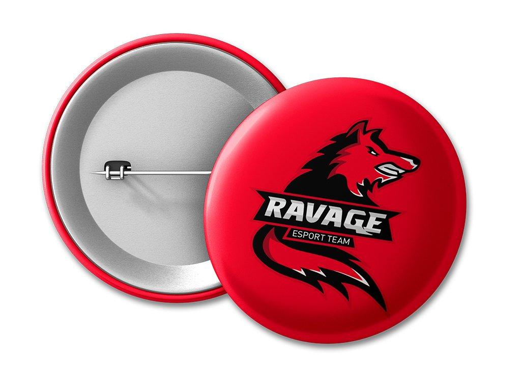 placka Ravage RED 50mm