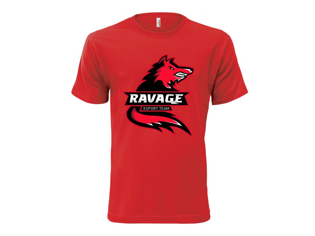 Tričko Ravage RED