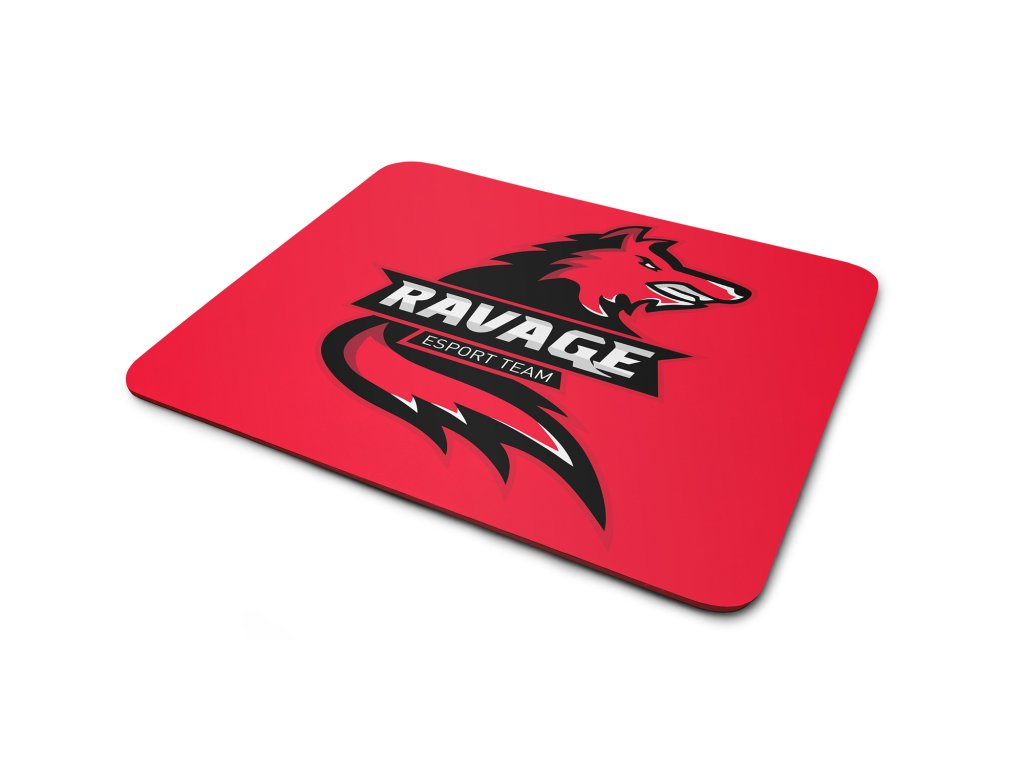 podložka ravage RED 230x190
