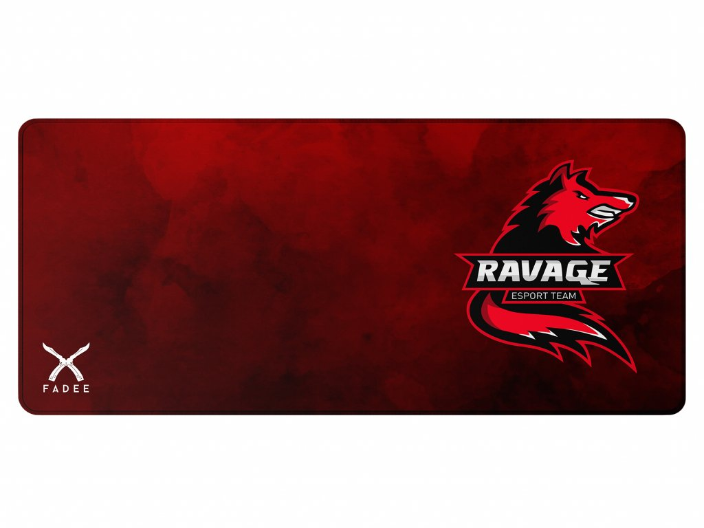 podložka ravage RED 90x40