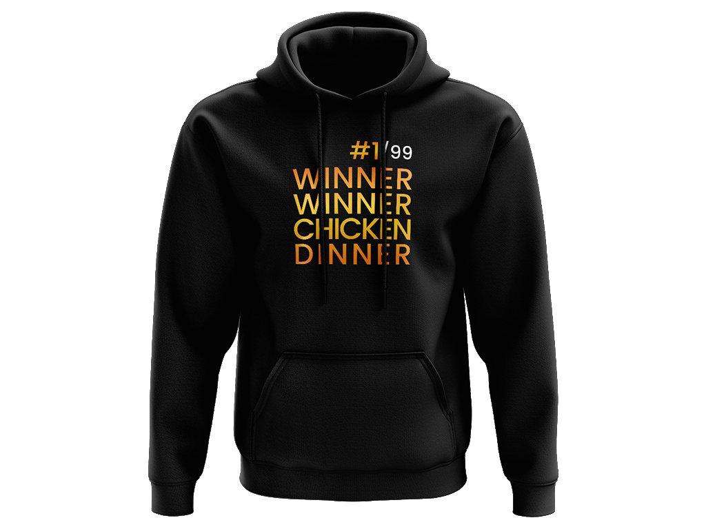 Winner Winner Chicken Dinner mikina na web