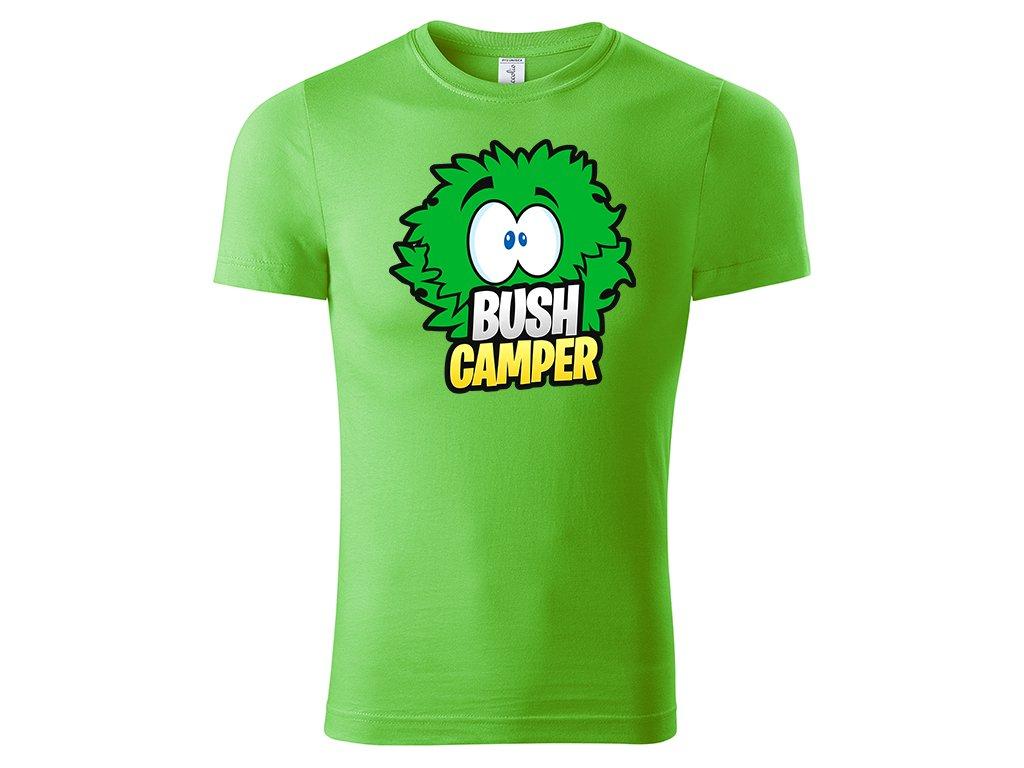 Tričko Bush Camper zelené