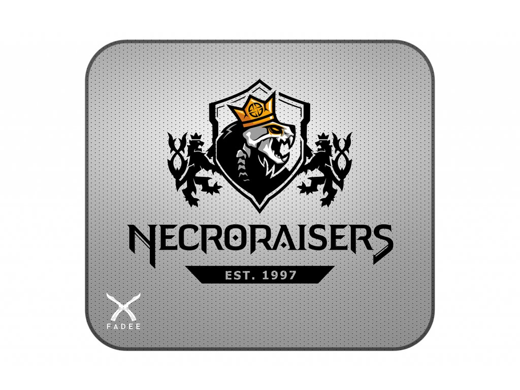 Necroraisers ŠEDÁ Podložka 45 mock up