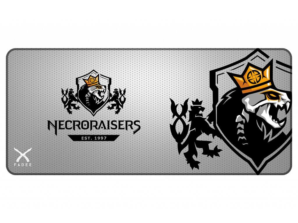 Necroraisers ŠEDÁ Podložka 90x40 mock up